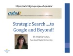 Faculty Speakers: Strategic Search….to Google and Beyond!