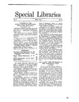 Special Libraries, May 1910