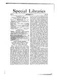Special Libraries, December 1911