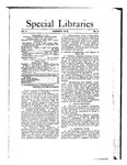 Special Libraries, February 1912 by Special Libraries Association