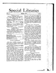 Special Libraries, March 1912