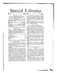 Special Libraries, April 1912 by Special Libraries Association