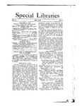 Special Libraries, May 1912 by Special Libraries Association