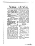 Special Libraries, June 1912 by Special Libraries Association