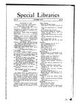 Special Libraries, October 1912