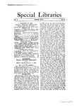 Special Libraries, March 1913