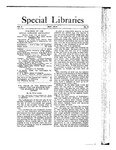 Special Libraries, May 1913
