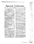 Special Libraries, June 1913