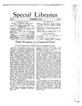 Special Libraries, November 1913 by Special Libraries Association