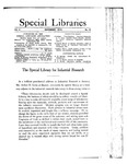 Special Libraries, December 1913 by Special Libraries Association