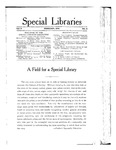 Special Libraries, February 1914 by Special Libraries Association