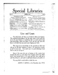 Special Libraries, April 1914 by Special Libraries Association