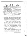 Special Libraries, June 1914 by Special Libraries Association