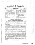 Special Libraries, September 1914 by Special Libraries Association