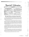 Special Libraries, October 1914 by Special Libraries Association