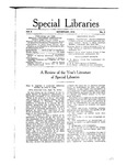 Special Libraries, November 1914