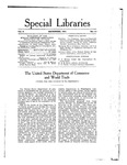 Special Libraries, December 1914 by Special Libraries Association