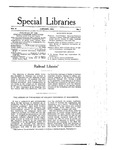 Special Libraries, January 1915 by Special Libraries Association