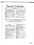 Special Libraries, February 1915 by Special Libraries Association