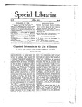 Special Libraries, April 1915 by Special Libraries Association