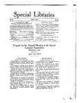 Special Libraries, May 1915 by Special Libraries Association