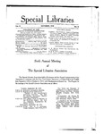 Special Libraries, October 1915 by Special Libraries Association