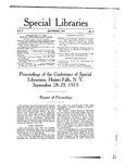 Special Libraries, November 1915