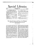 Special Libraries, December 1915 by Special Libraries Association