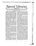 Special Libraries, February 1916 by Special Libraries Association