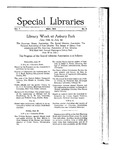Special Libraries, May 1916