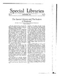Special Libraries, November 1916 by Special Libraries Association