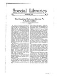 Special Libraries, February 1917