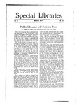 Special Libraries, March 1917 by Special Libraries Association