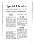Special Libraries, September 1917 by Special Libraries Association