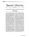 Special Libraries, October 1917 by Special Libraries Association