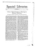Special Libraries, November 1917 by Special Libraries Association