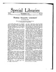 Special Libraries, December 1917