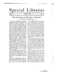 Special Libraries, May 1918