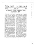 Special Libraries, June 1918 by Special Libraries Association
