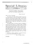 Special Libraries, November 1918