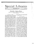 Special Libraries, December 1918 by Special Libraries Association
