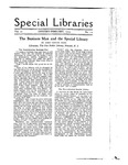 Special Libraries, January-February 1919 by Special Libraries Association