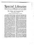 Special Libraries, April 1919 by Special Libraries Association