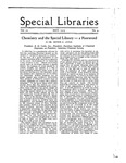 Special Libraries, May 1919
