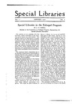 Special Libraries, January 1920 by Special Libraries Association