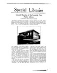 Special Libraries, June 1920 by Special Libraries Association