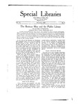 Special Libraries, November 1920 by Special Libraries Association