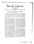 Special Libraries, December 1920 by Special Libraries Association
