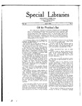 Special Libraries, April 1921 by Special Libraries Association