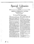 Special Libraries, June 1921 by Special Libraries Association